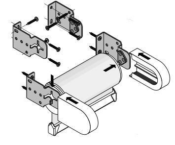 basisrollo montageanleitung wandmontage. Black Bedroom Furniture Sets. Home Design Ideas