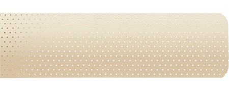 classic perforated line beige 1107