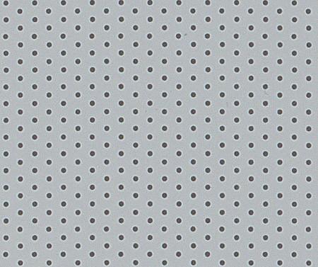 Aluminium perforiert grau  952-02