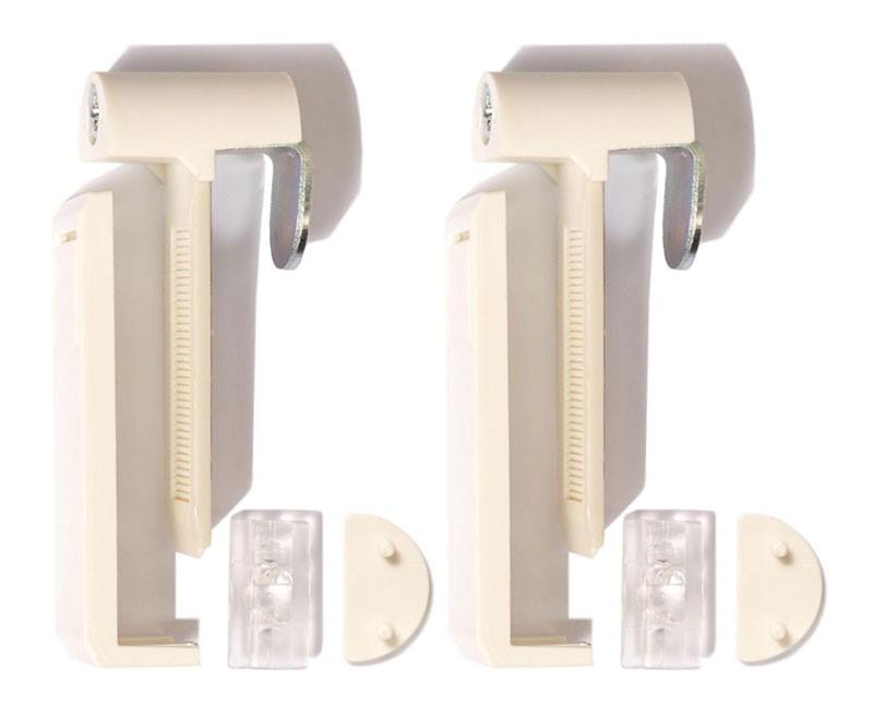 falzfix klemmtr ger cosiflor mit adapter f r kunststofffenster wei. Black Bedroom Furniture Sets. Home Design Ideas