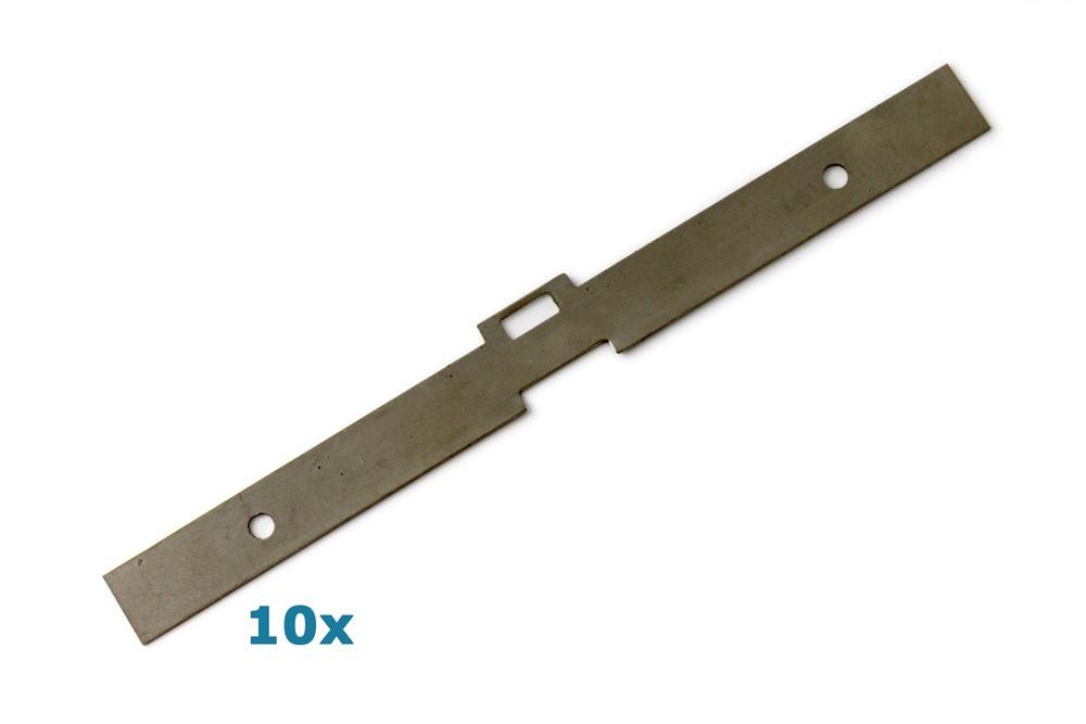 Lamellenhalter 127 mm aus Edelstahl