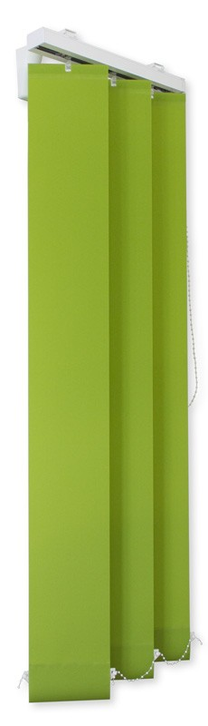 Lamellenvorhang grün