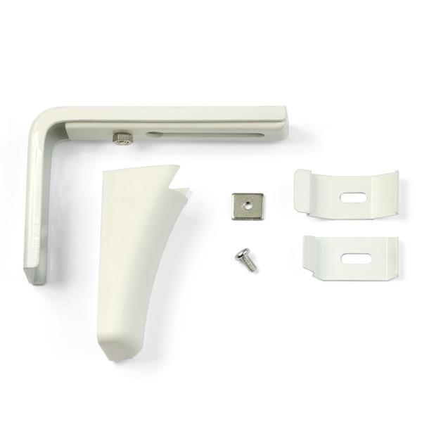 Universal Wandträger Weiß für Vertikalvorhang