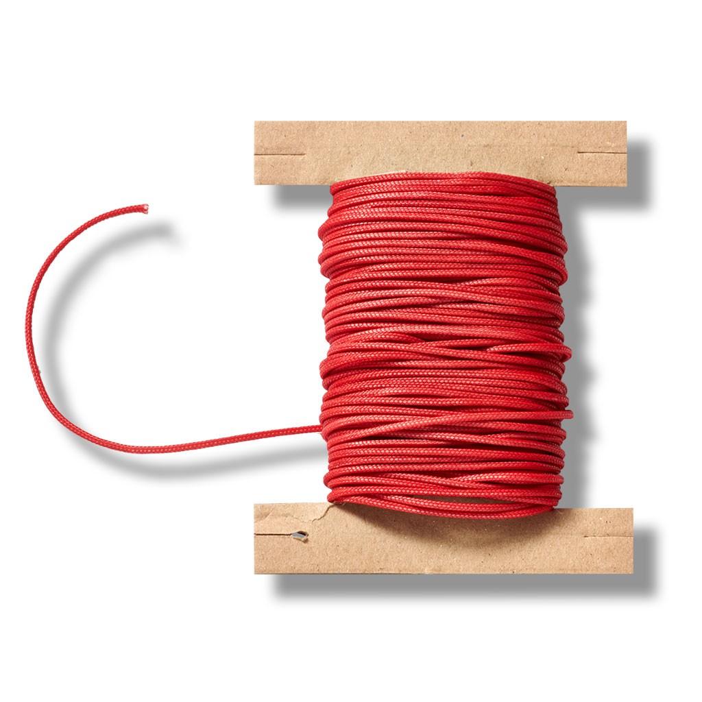 Zugschnur für Jalousien in der Farbe Rot