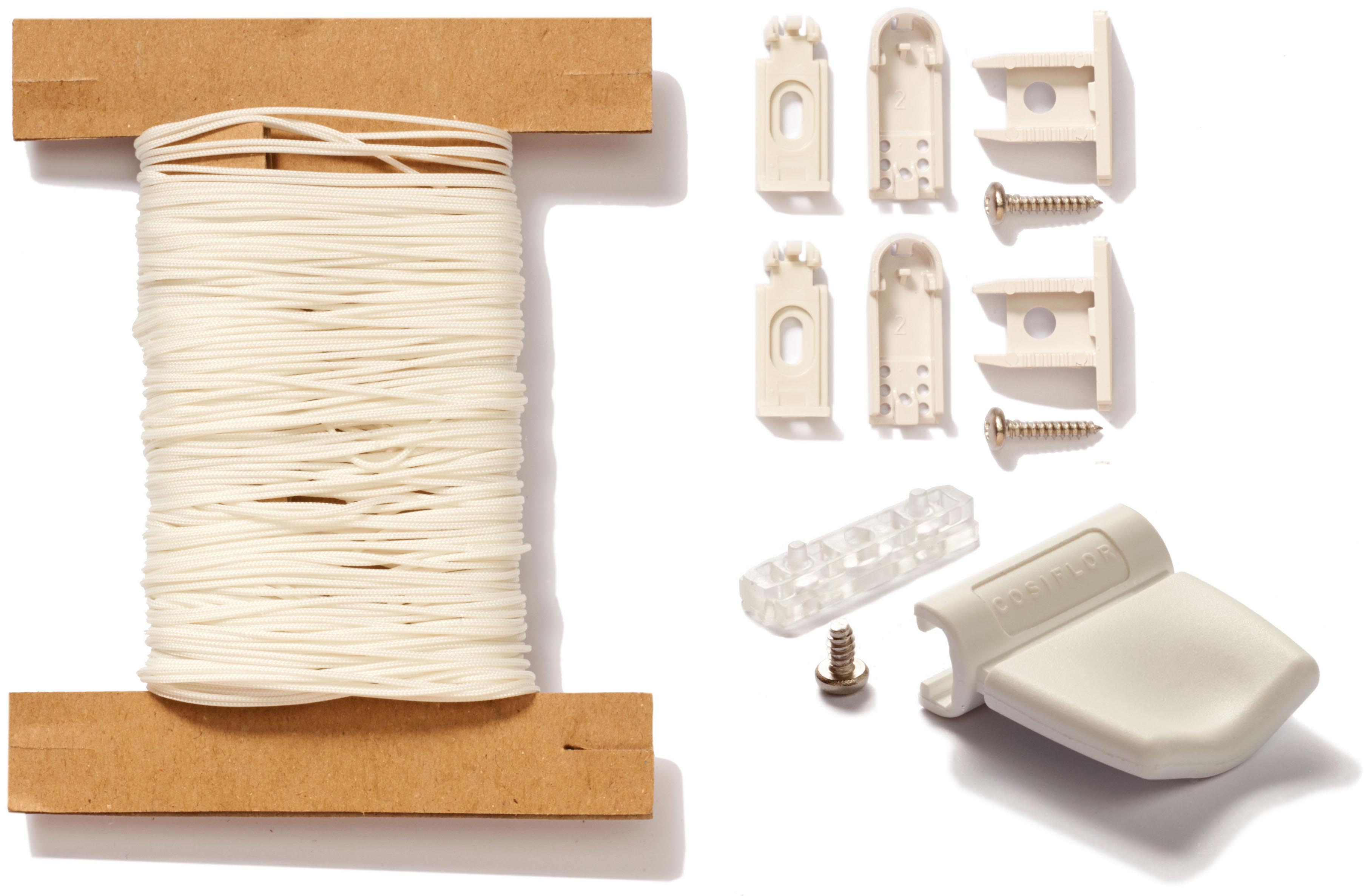 ersatzteile zur reparatur von cosiflor plissees plissee reparatur set gro. Black Bedroom Furniture Sets. Home Design Ideas