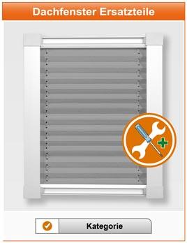 Dachfenster Plissee und Rollo Ersatzteile