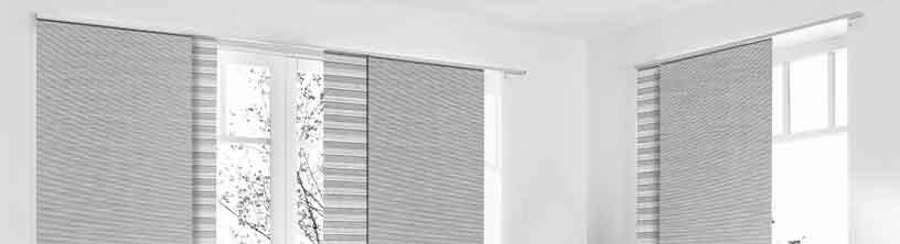 Zubehör für Schiebevorhang und Flächenvorhang